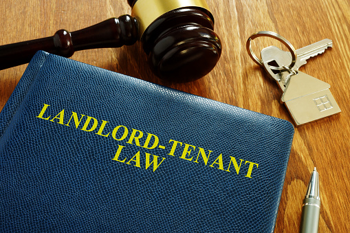 Landlord Tenant Law book