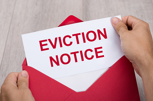 eviction notice paper